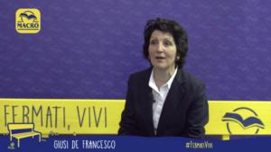Il video di Giusi De Francesco durante la manifestazione #FermatiVivi